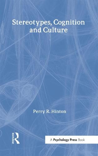 Stereotypes, Cognition and Culture (Hardback)
