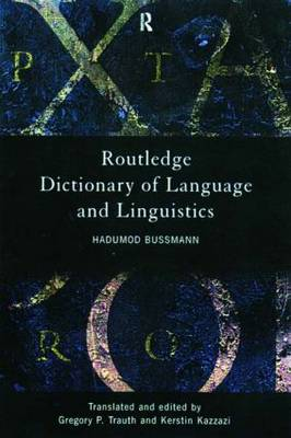 Routledge Dictionary of Language and Linguistics (Paperback)