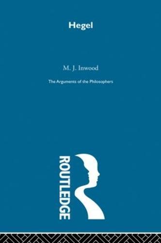 Hegel-Arg Philosophers (Hardback)
