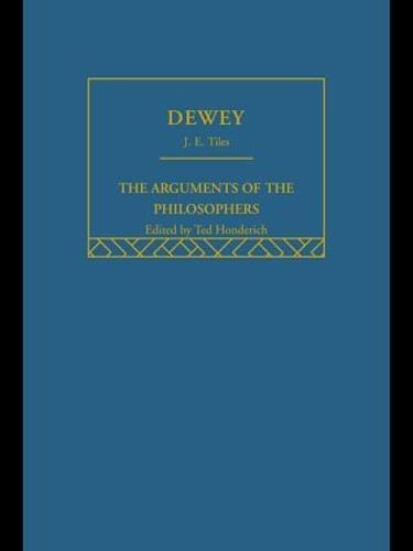 Dewey-Arg Philosophers (Hardback)