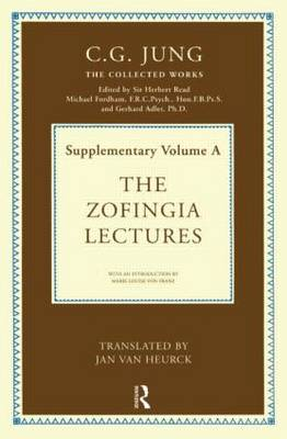 The Zofingia Lectures: Supplementary Volume A - Collected Works of C.G. Jung (Hardback)