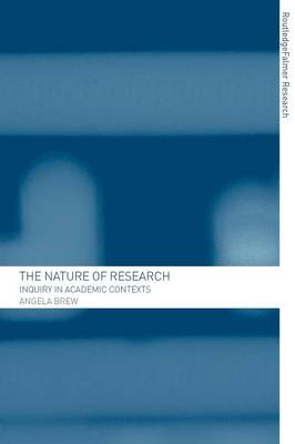 The Nature of Research: Inquiry in Academic Contexts (Paperback)