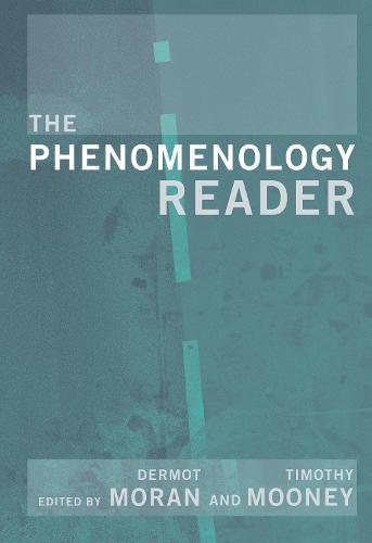 The Phenomenology Reader (Hardback)