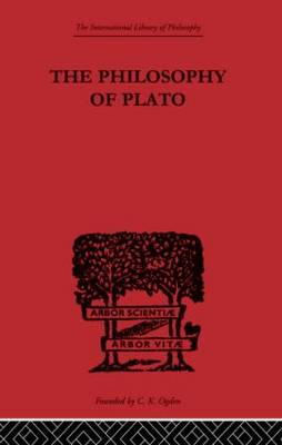 The Philosophy of Plato - International Library of Philosophy (Hardback)