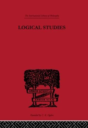 Logical Studies (Hardback)
