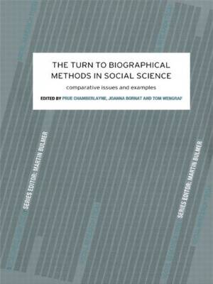 The Turn to Biographical Methods in Social Science: Comparative Issues and Examples (Paperback)