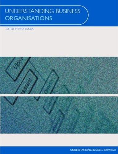 Understanding Business Organisations - Understanding Business (Paperback)