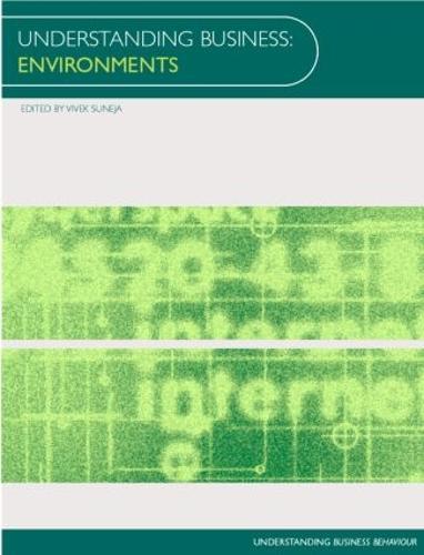 Understanding Business Environments - Understanding Business (Paperback)
