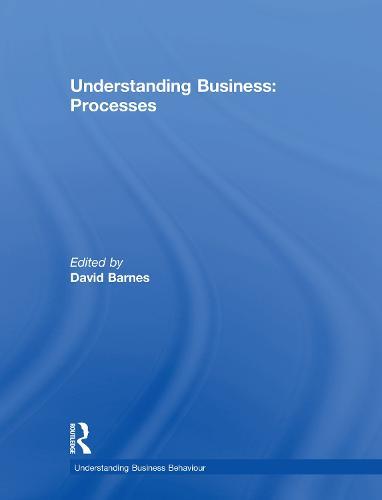 Understanding Business Processes - Understanding Business (Hardback)
