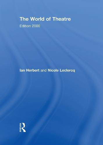 The World of Theatre: Edition 2000 (Hardback)