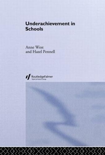 Underachievement in Schools (Hardback)