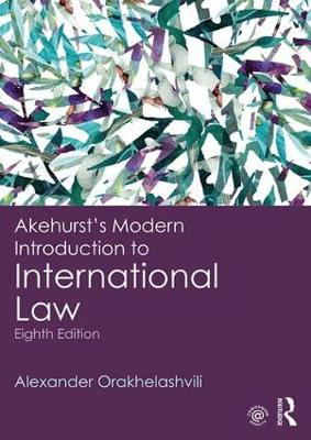 Akehurst's Modern Introduction to International Law (Paperback)