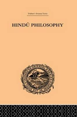 Hindu Philosophy: The Sankhya Karika of Iswara Krishna (Hardback)