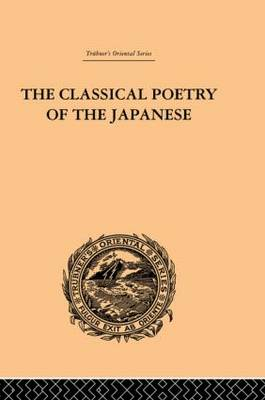 The Classical Poetry of the Japanese (Hardback)