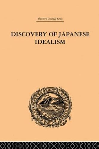 Discovery of Japanese Idealism (Hardback)