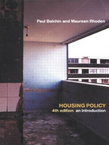 Housing Policy In The United States: An Introduction (Hardback)