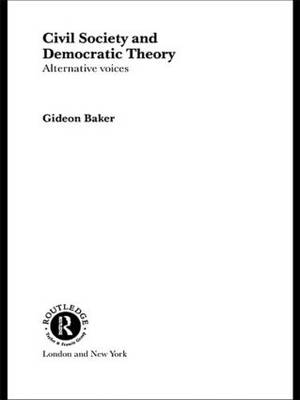 Civil Society and Democratic Theory: Alternative Voices - Routledge Innovations in Political Theory (Hardback)