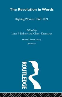 The Revolution in Words - Women's Source Library (Hardback)