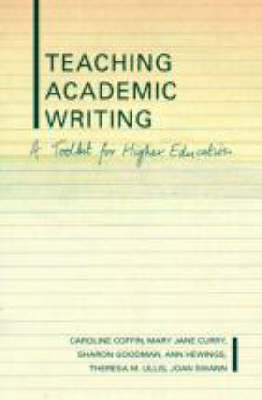 Teaching Academic Writing: A Toolkit for Higher Education (Paperback)