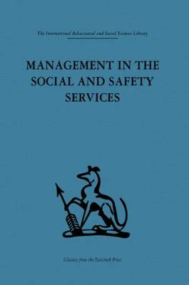 Management in the Social and Safety Services (Hardback)