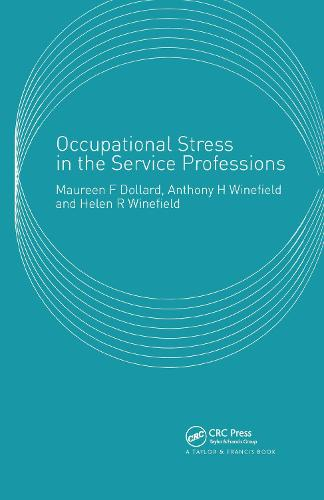 Occupational Stress in the Service Professions (Hardback)