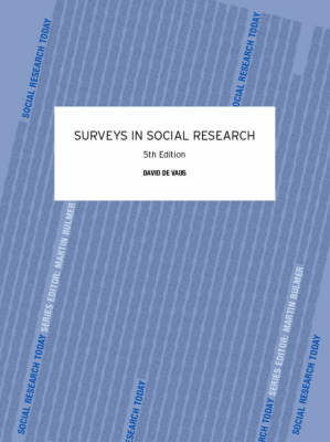Surveys in Social Research - Social Research Today (Paperback)