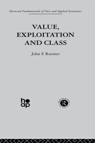 Value, Exploitation and Class (Hardback)