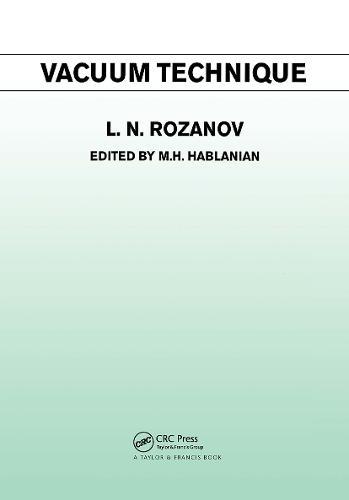 Vacuum Technique (Hardback)