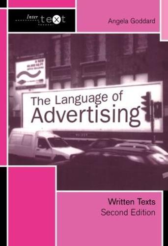 The Language of Advertising: Written Texts - Intertext (Hardback)