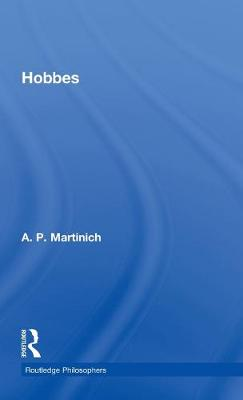 Hobbes - The Routledge Philosophers (Hardback)