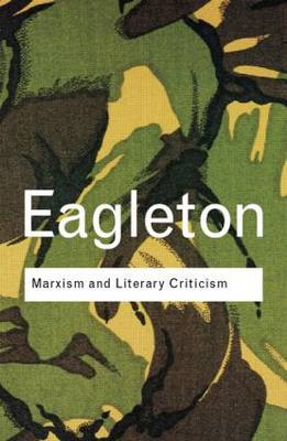 Marxism and Literary Criticism (Paperback)