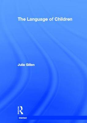 The Language of Children - Intertext (Hardback)