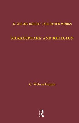 Shakespeare & Religion V 7 (Hardback)