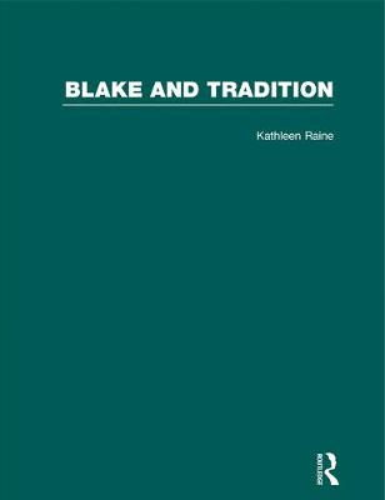 Blake & Tradition V2 (Hardback)