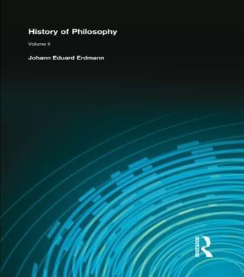 History of Philosophy: Volume II (Hardback)