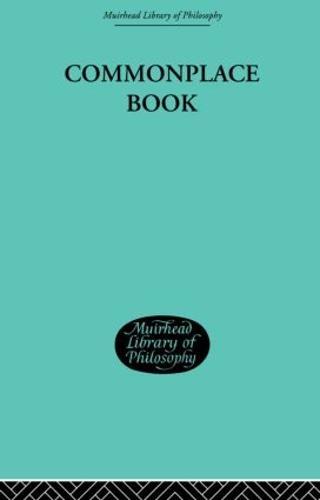 Commonplace Book: 1919-1953 (Hardback)