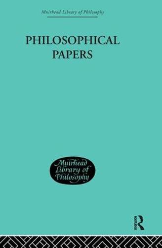 Philosophical Papers (Hardback)