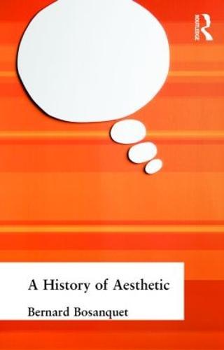 A History of Aesthetic (Hardback)