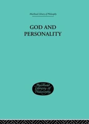 God and Personality (Hardback)