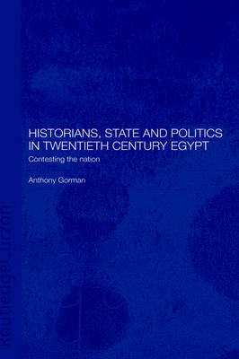 Historians, State and Politics in Twentieth Century Egypt: Contesting the Nation - Routledge Islamic Studies Series (Hardback)