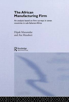 The African Manufacturing Firm: An Analysis Based on Firm Studies in Sub-Saharan Africa - Routledge Studies in Development Economics (Hardback)