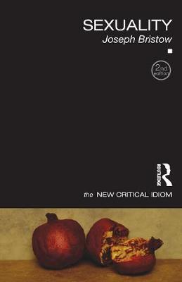 Sexuality - The New Critical Idiom (Paperback)