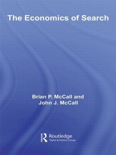The Economics of Search - Routledge Advances in Experimental and Computable Economics (Hardback)
