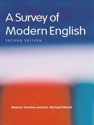 A Survey of Modern English (Hardback)
