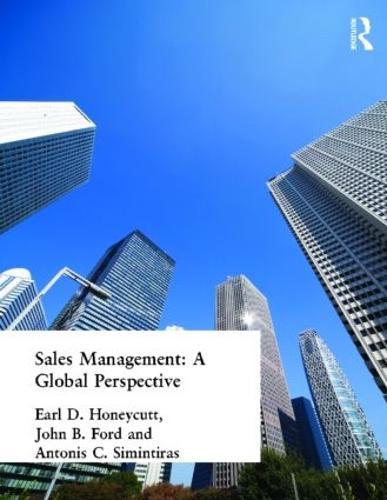 Sales Management: A Global Perspective (Paperback)