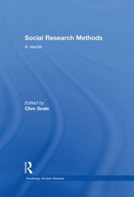 Social Research Methods: A Reader - Routledge Student Readers (Hardback)