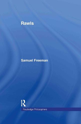 Rawls - The Routledge Philosophers (Hardback)