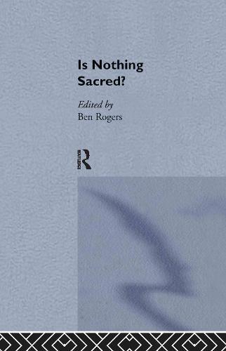 Is Nothing Sacred? (Hardback)