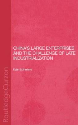 China's Large Enterprises and the Challenge of Late Industrialisation - Routledge Studies on the Chinese Economy (Hardback)