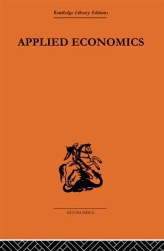 Applied Economics (Hardback)